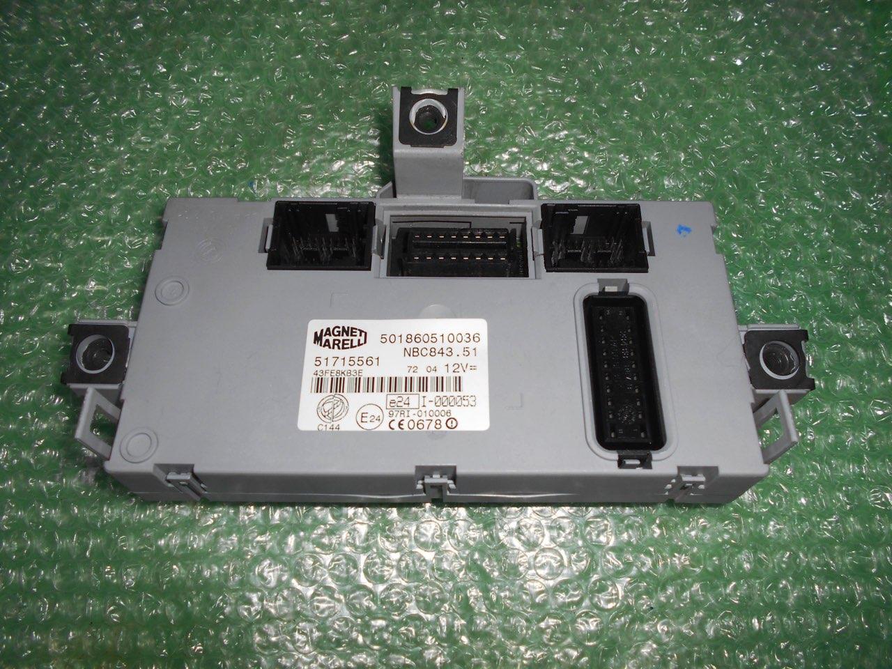 MODULO BODY COMPUTER 51715561 – MAGNETI MARELLI 501860510036 LANCIA YPSILON (843)(2003-2011)