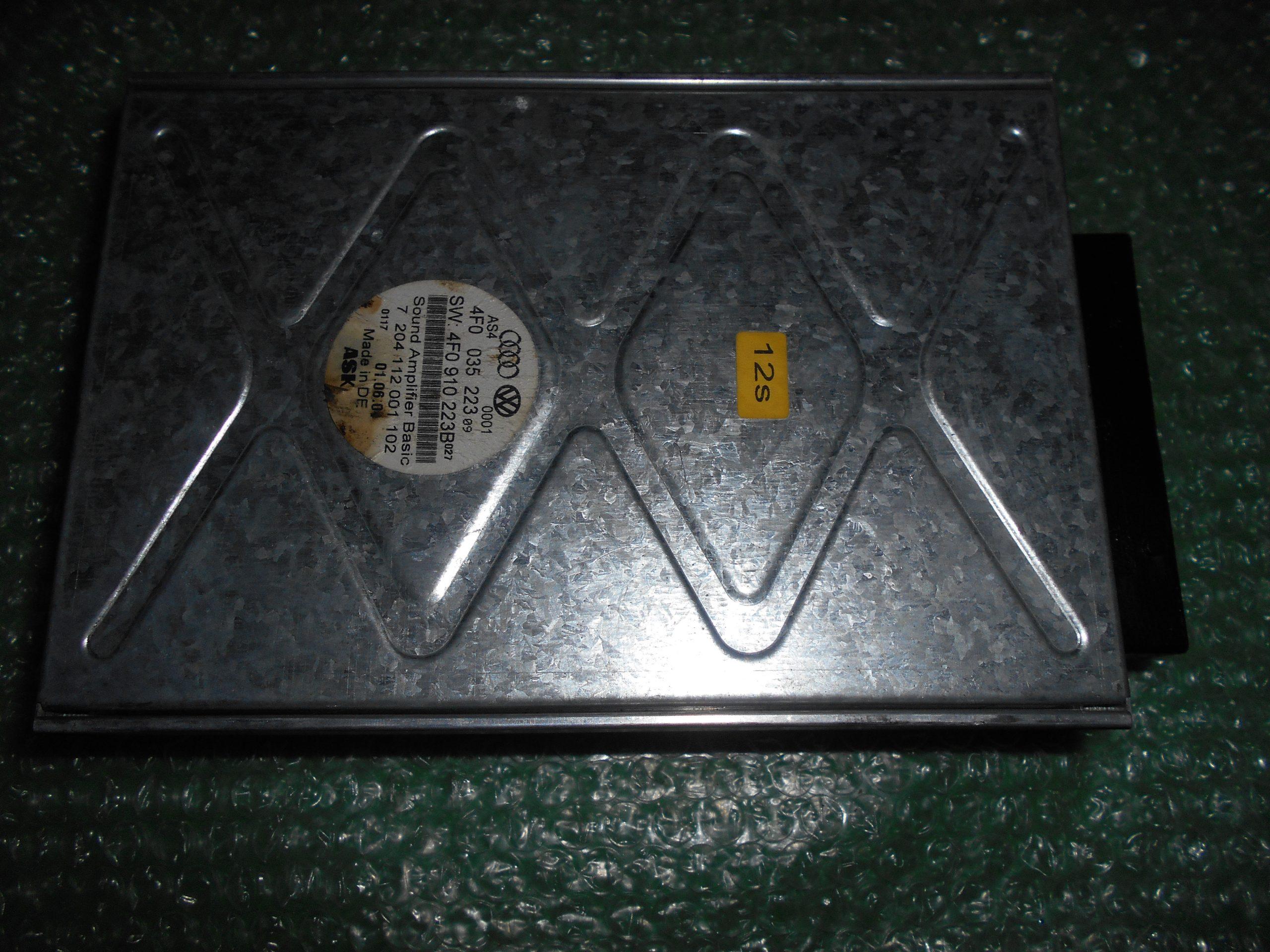 MODULO AMPLIFICADOR AUDIO 4F0035223 – 4F0910223B AUDI A6 (2005-2011)