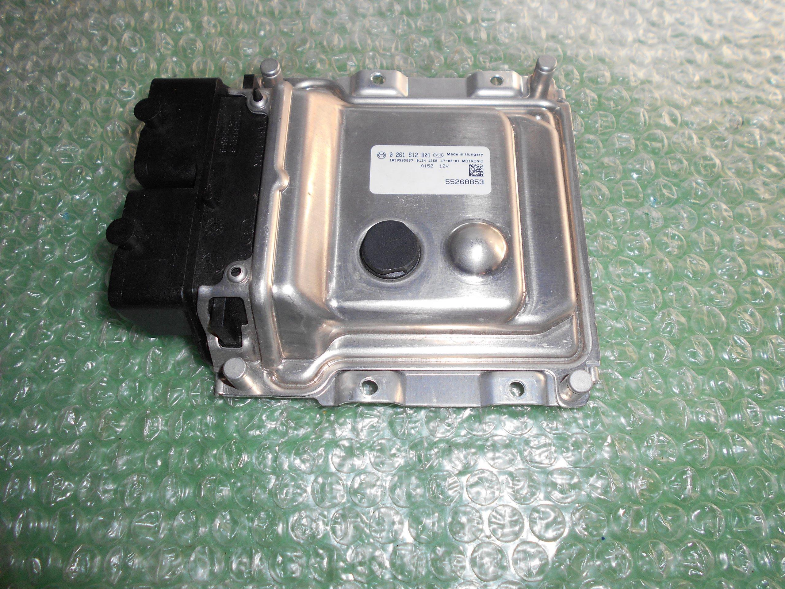 CENTRALITA UCE MOTOR 55268853 – BOSCH 0261S12801 FIAT TIPO II 1.4 16V (2015-2020)