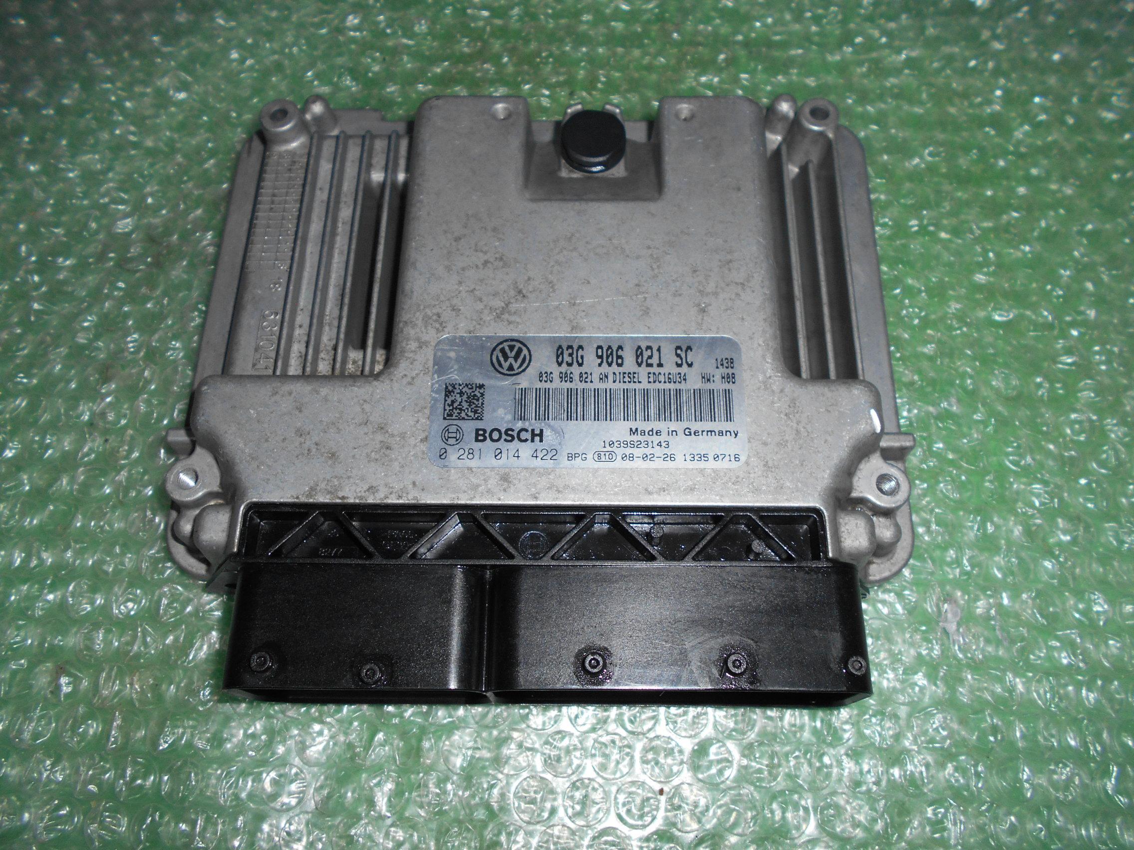 CENTRALITA UCE MOTOR 03G906021SC – BOSCH 0281014422 SEAT LEON II 1.9 TDI (105CV)(2005-2011)