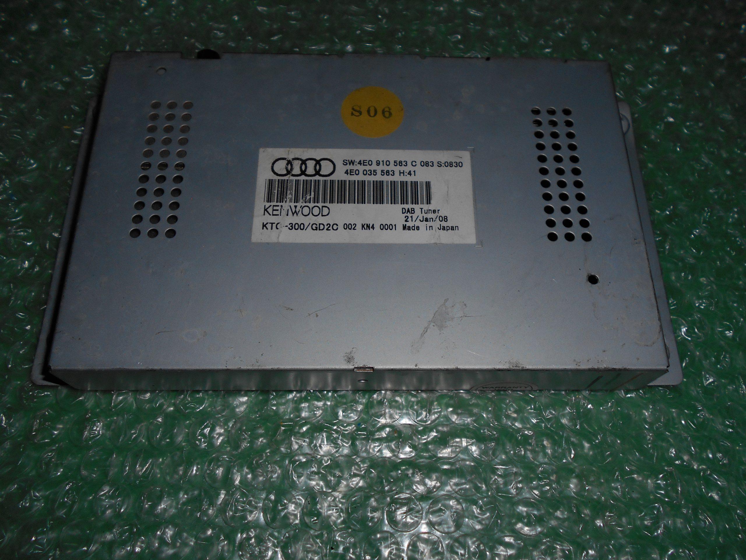 MODULO SINTONIZADOR 4E0035563 – 4E0910563C AUDI A8 (D3)(2003-2010)