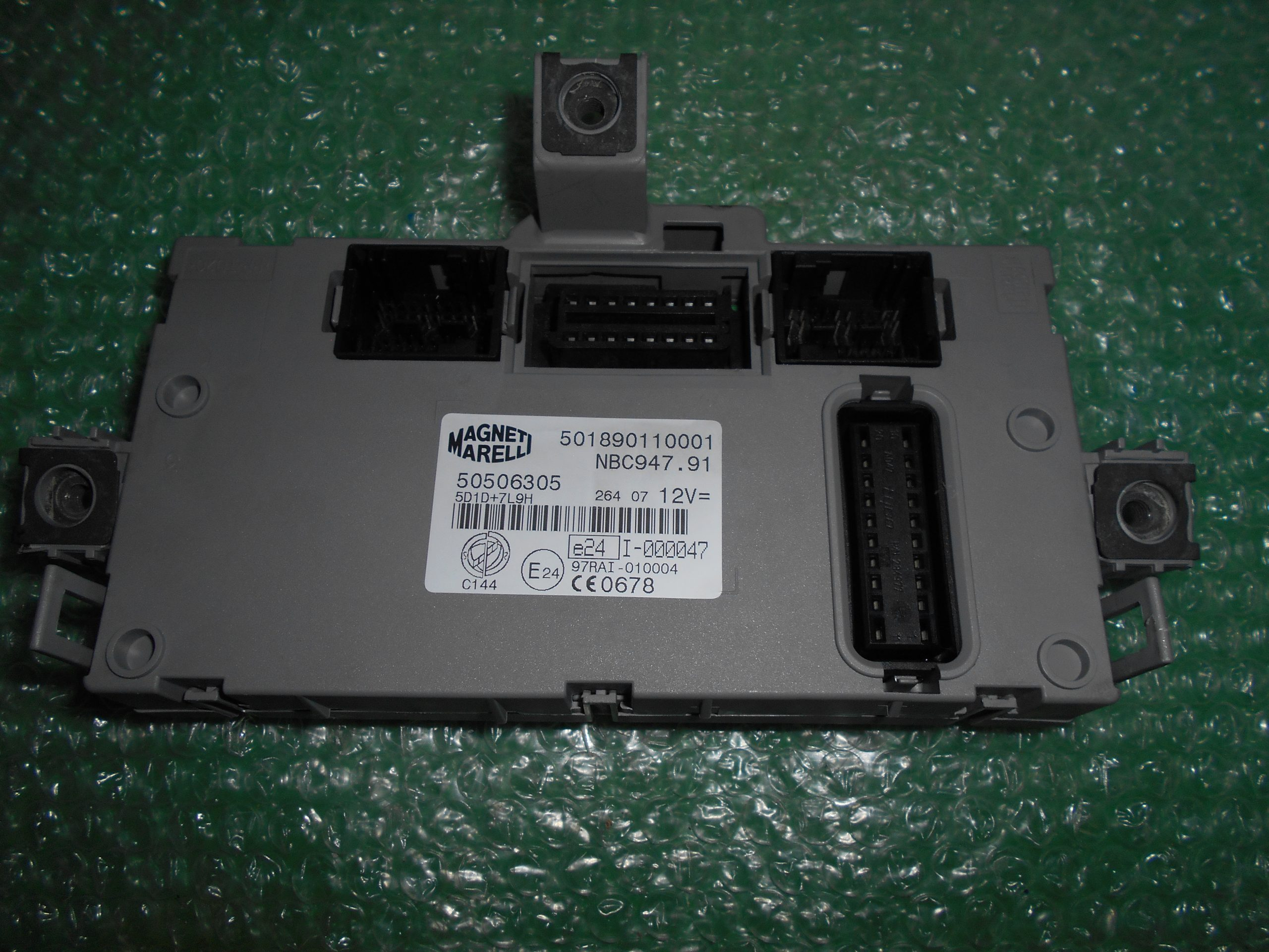 MODULO BODY COMPUTER 50506305 – MAGNETI MARELLI 501890110001 ALFA ROMEO GT (947)(2004-2010)