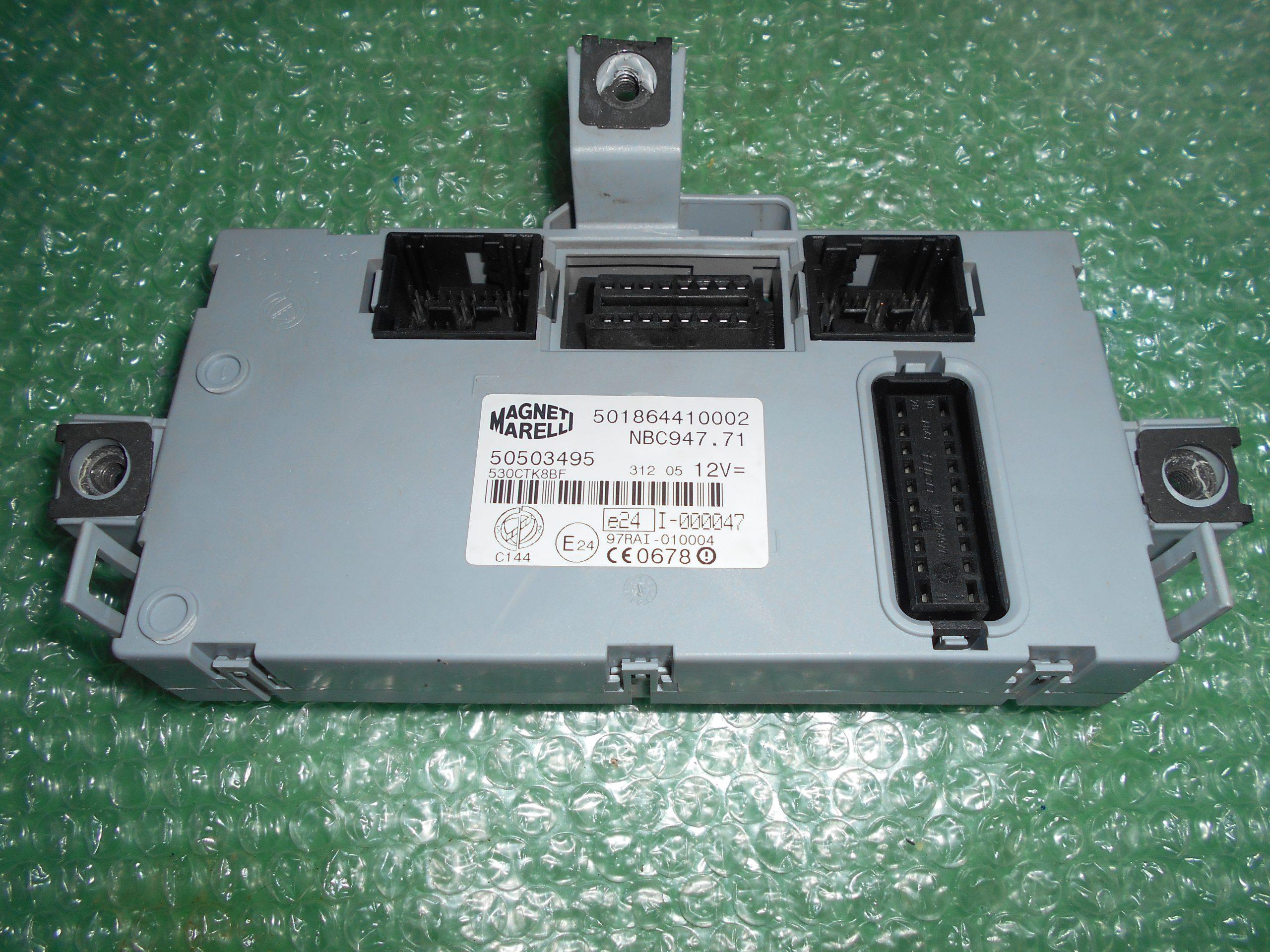 MODULO BODY COMPUTER 50503495 – MAGNETI MARELLI 501864410002 ALFA ROMEO GT (947)(2005-2010)