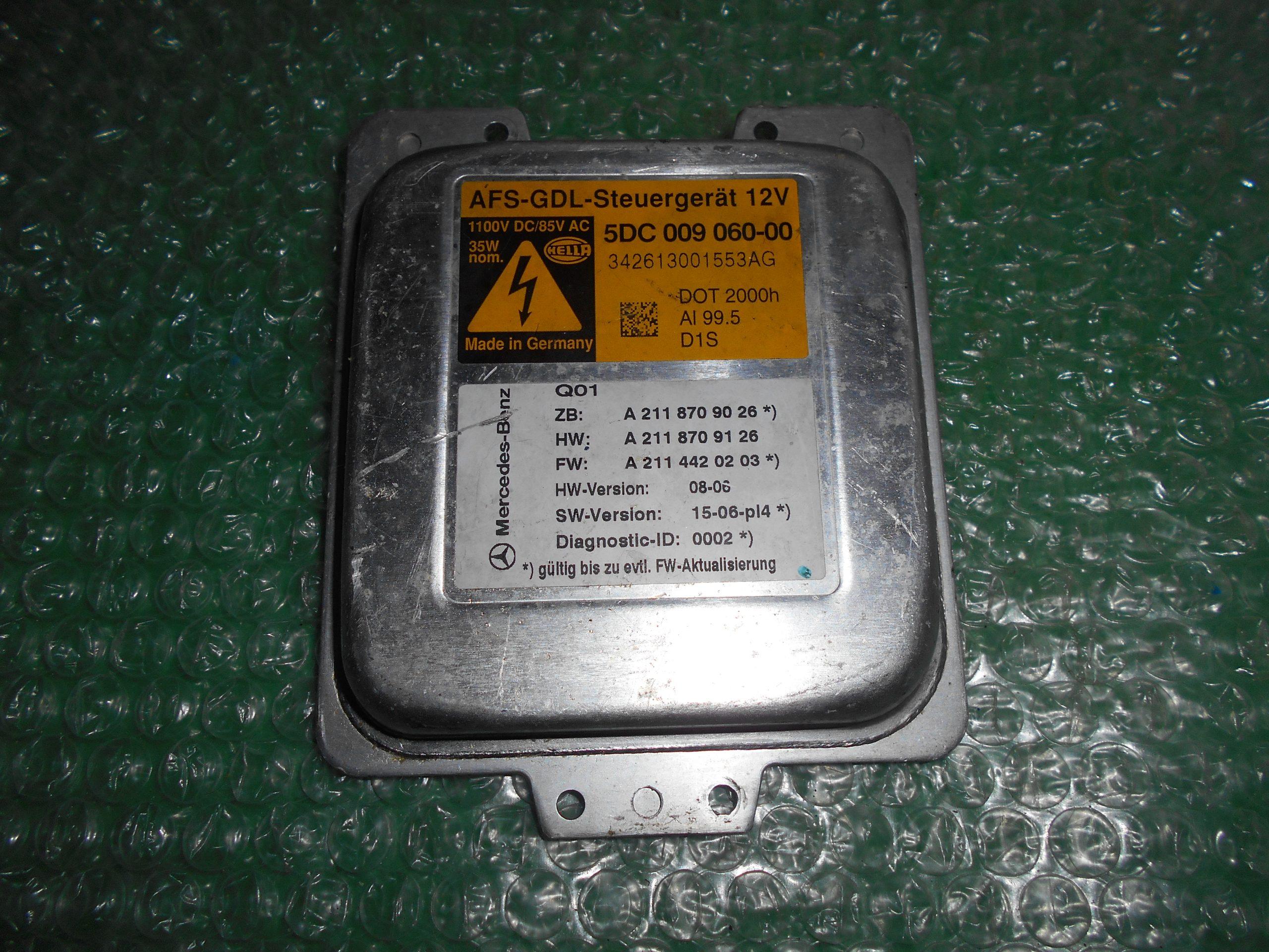 CENTRALITA DE AFS 5DC009060-00 MERCEDES BENZ CLASE E (W211)(2002-2009)