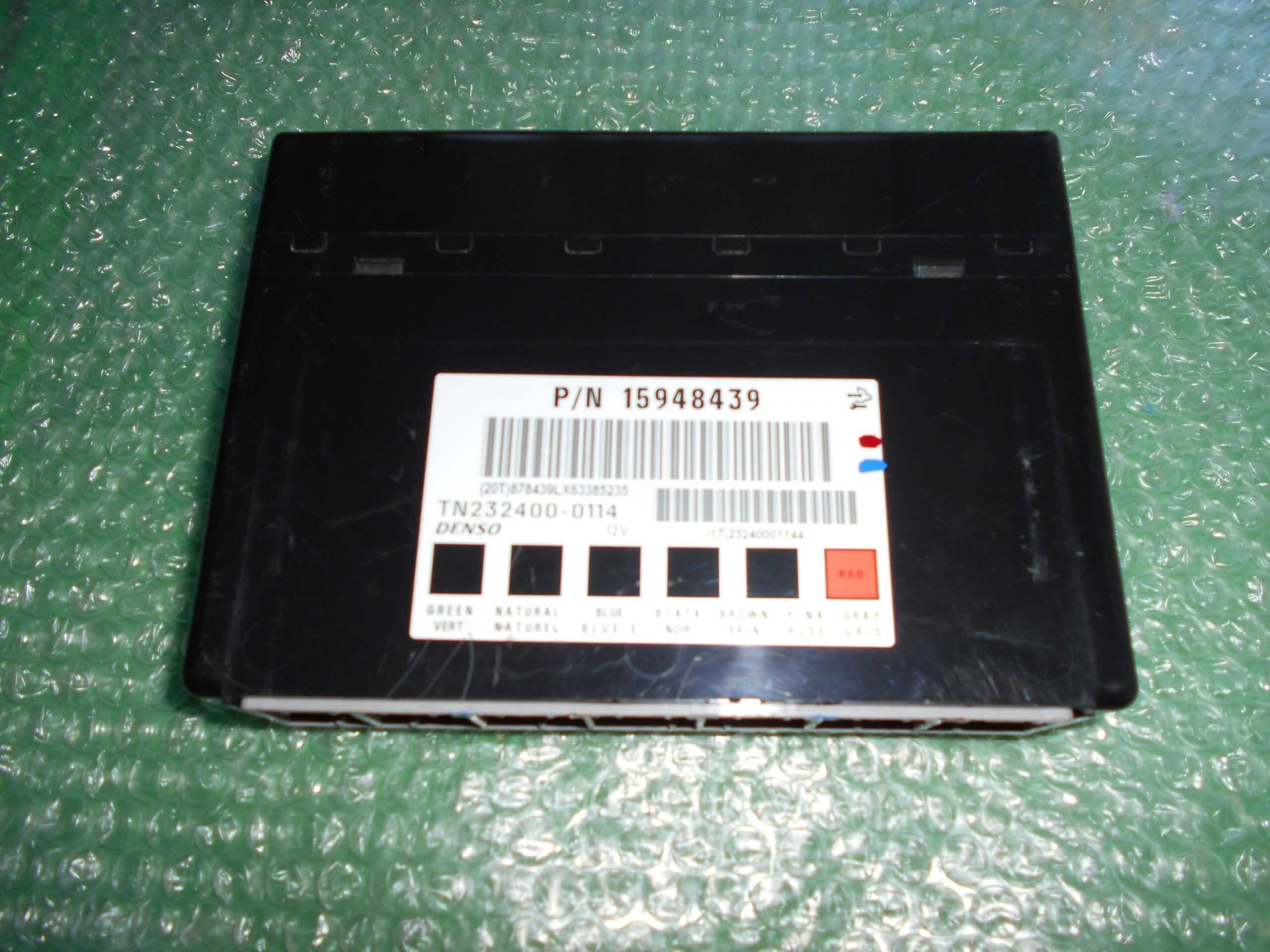MODULO DE CONFORT BSI 15948439 – DENSO TN232400-0114 CHEVROLET CAPTIVA (2006-2012)