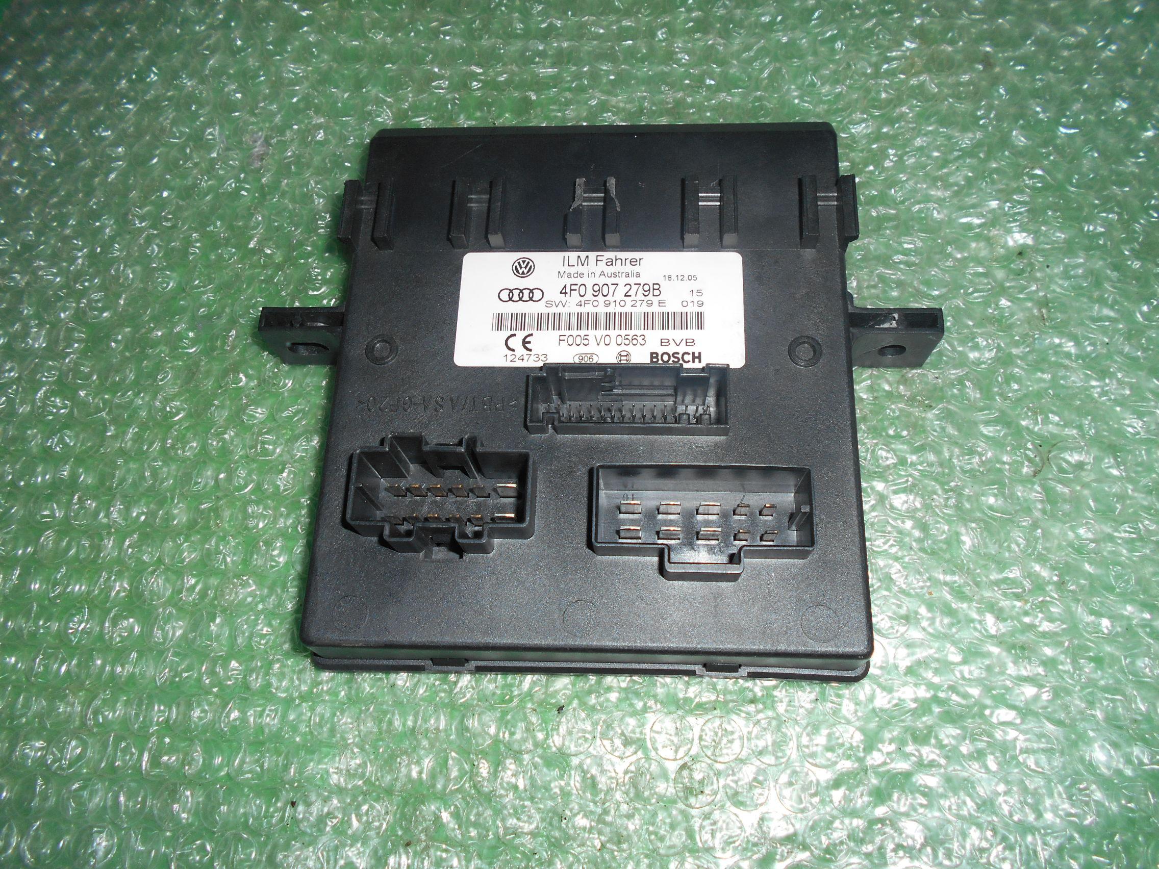 MODULO DE APOYO DE CONFORT 4F0907279B – 4F0910279E – BOSCH F005V00563 AUDI A6 (C6)(2005-2011)