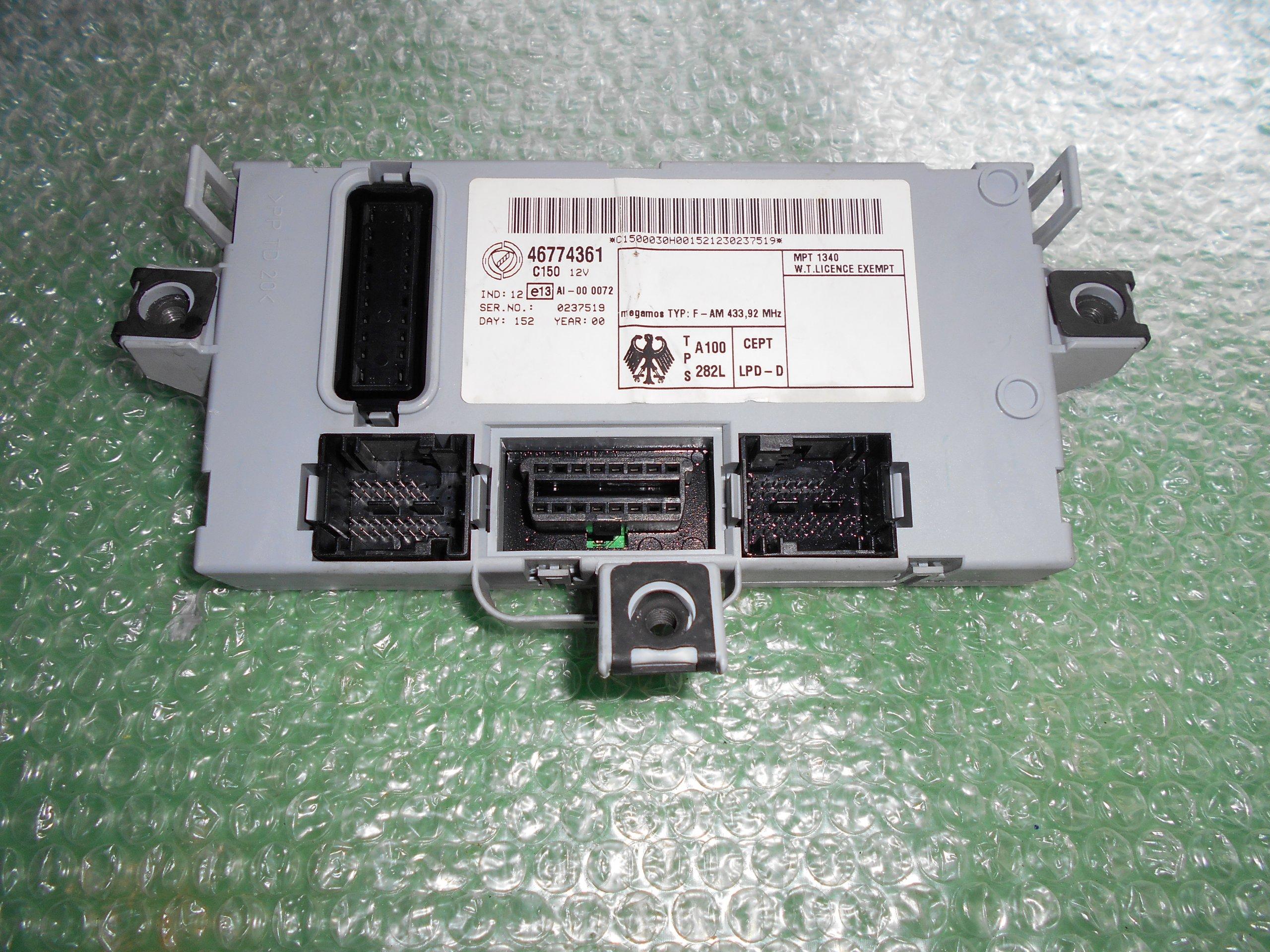 MODULO BODY COMPUTER 46774361 FIAT DOBLÓ (223)(2000-2010)
