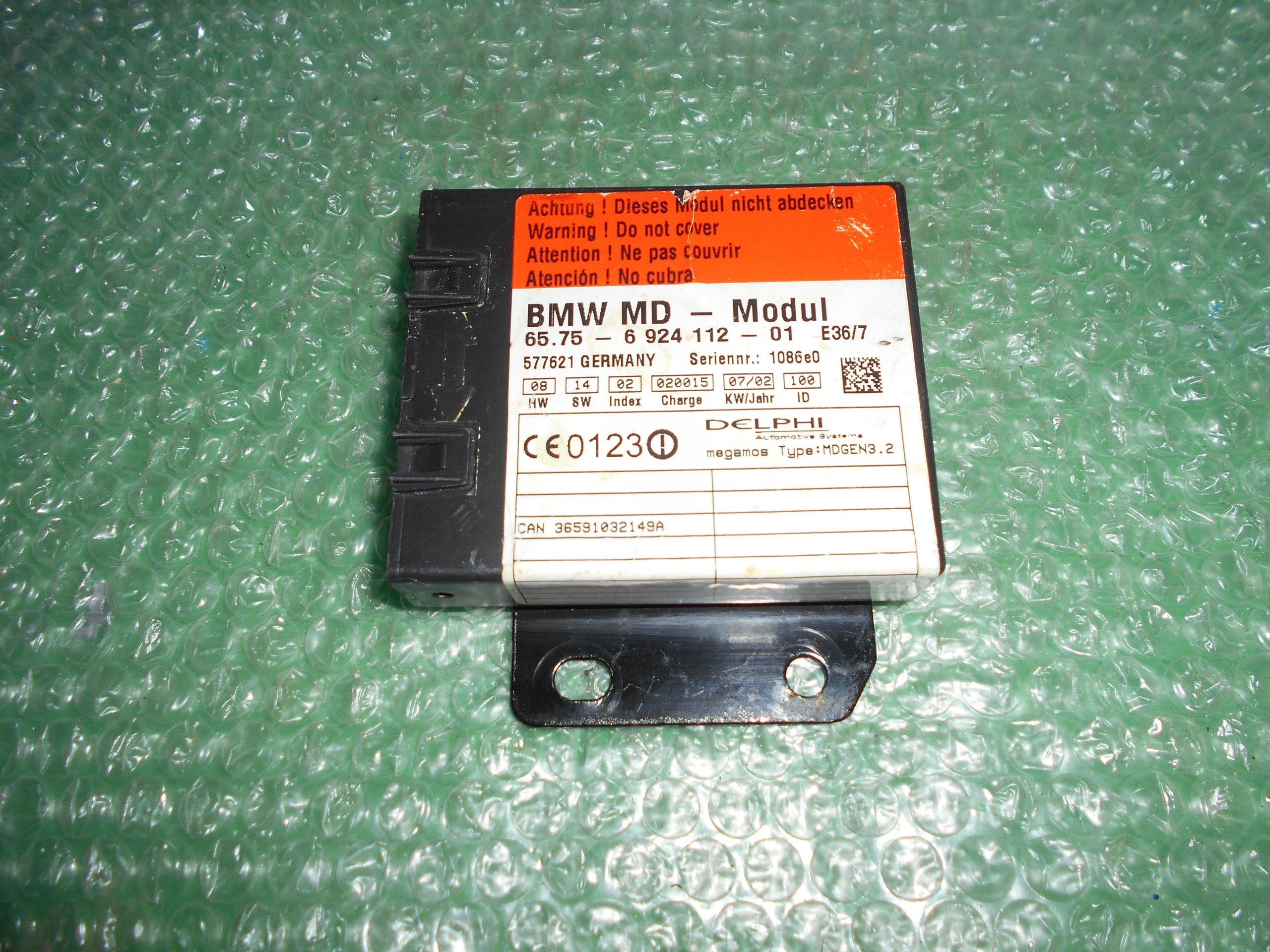 UNIDAD DE CONTROL 65.75-6924112-01 BMW (1998-2008)