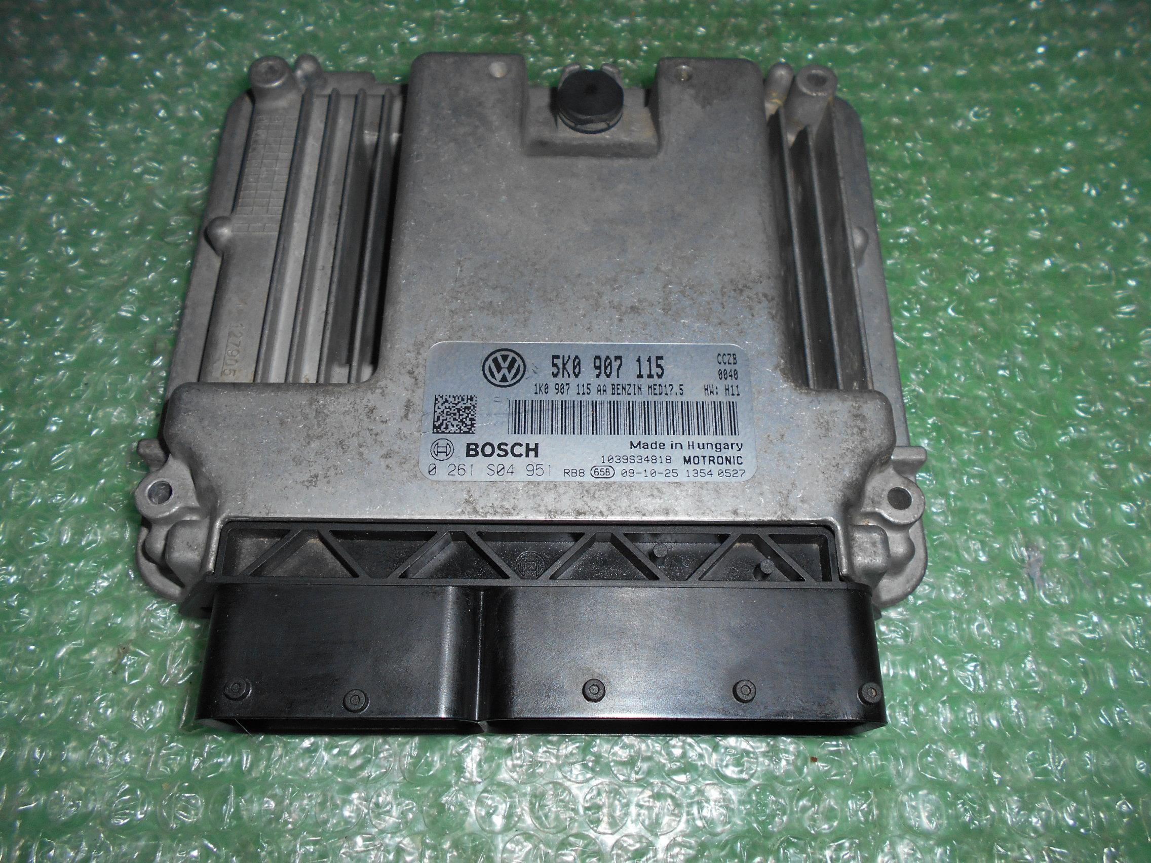 CENTRALITA UCE MOTOR 5K0907115 – BOSCH 0261S04951 VW GOLF VI 2.0 GTI TSFI (211CV)(2008-2015)