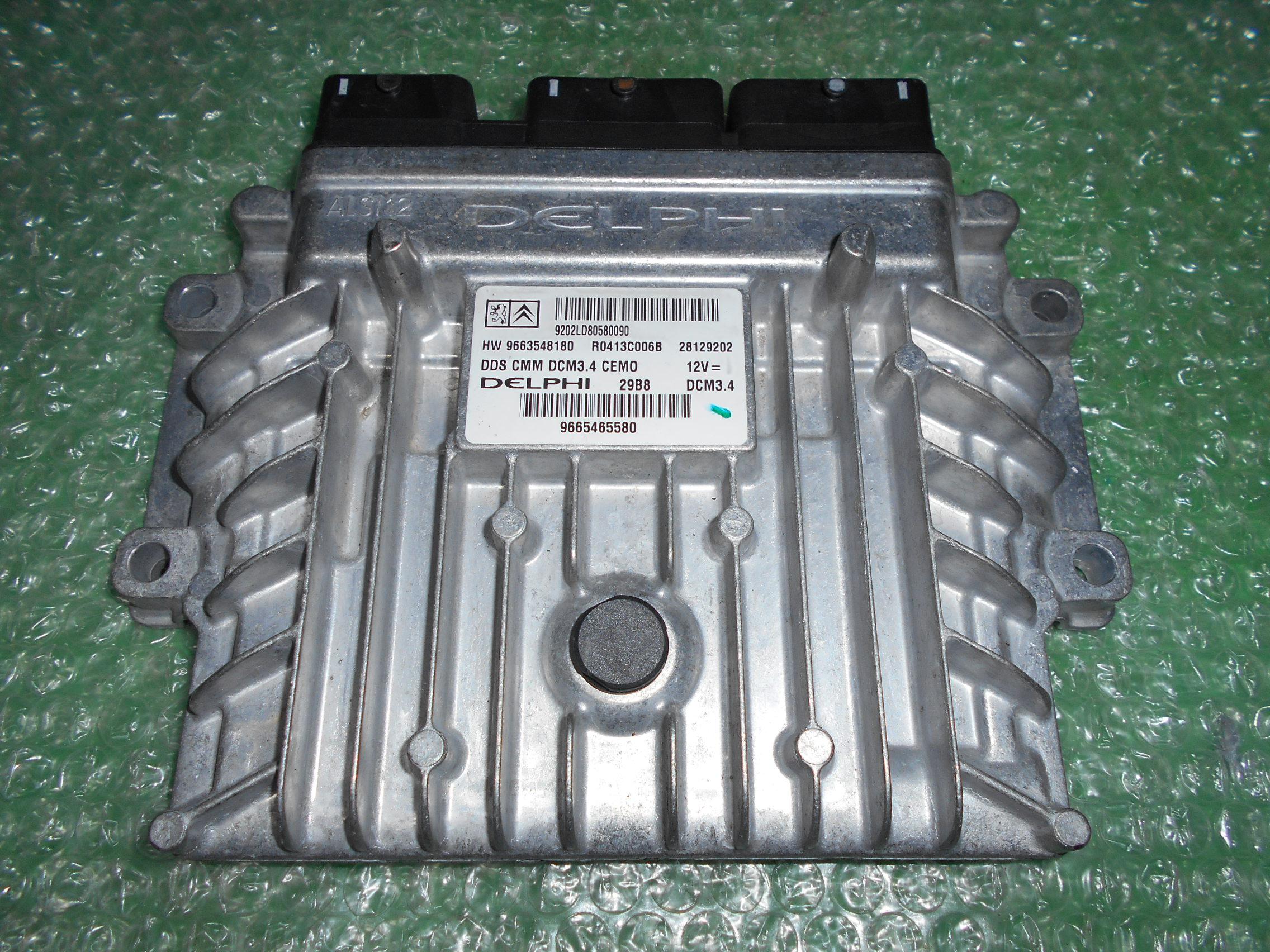CENTRALITA UCE MOTOR 9665465580 – 9663548180 PEUGEOT 407 2.2 ST (2004-2010)