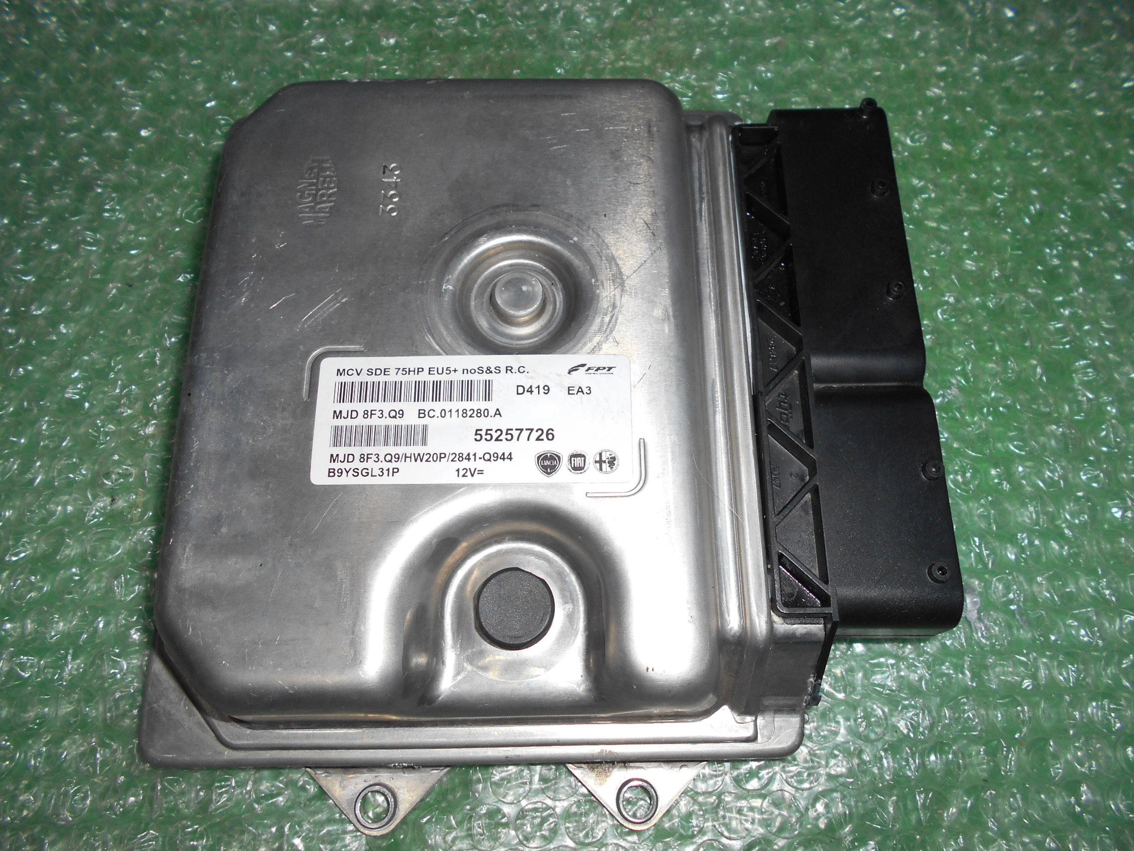 CENTRALITA UCE MOTOR 55257726 (MJD 8F3.Q9) – FIAT FIORINO – FIAT DOBLÓ II – PEUGEOT BIPPER – CITROEN NEMO 1.3 JTDM 16V (75HP)(2008-2018)