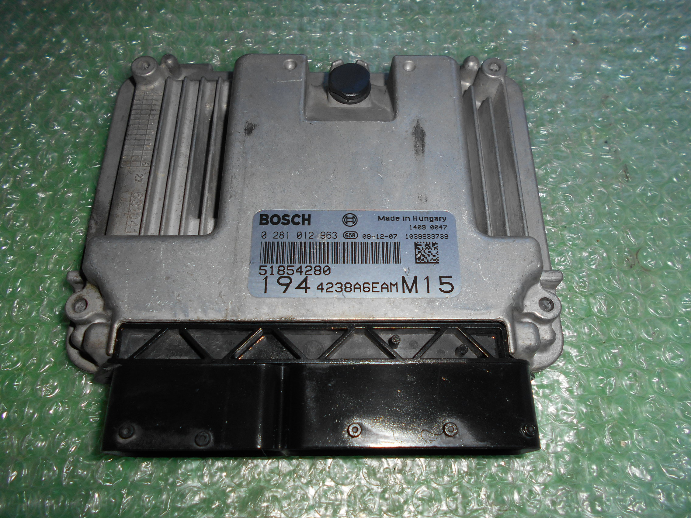 CENTRALITA UCE MOTOR 51854280 – 55205064 – BOSCH 0281012963 FIAT CROMA 1.9 JTD MULTIJET (150CV)(2005-2010)