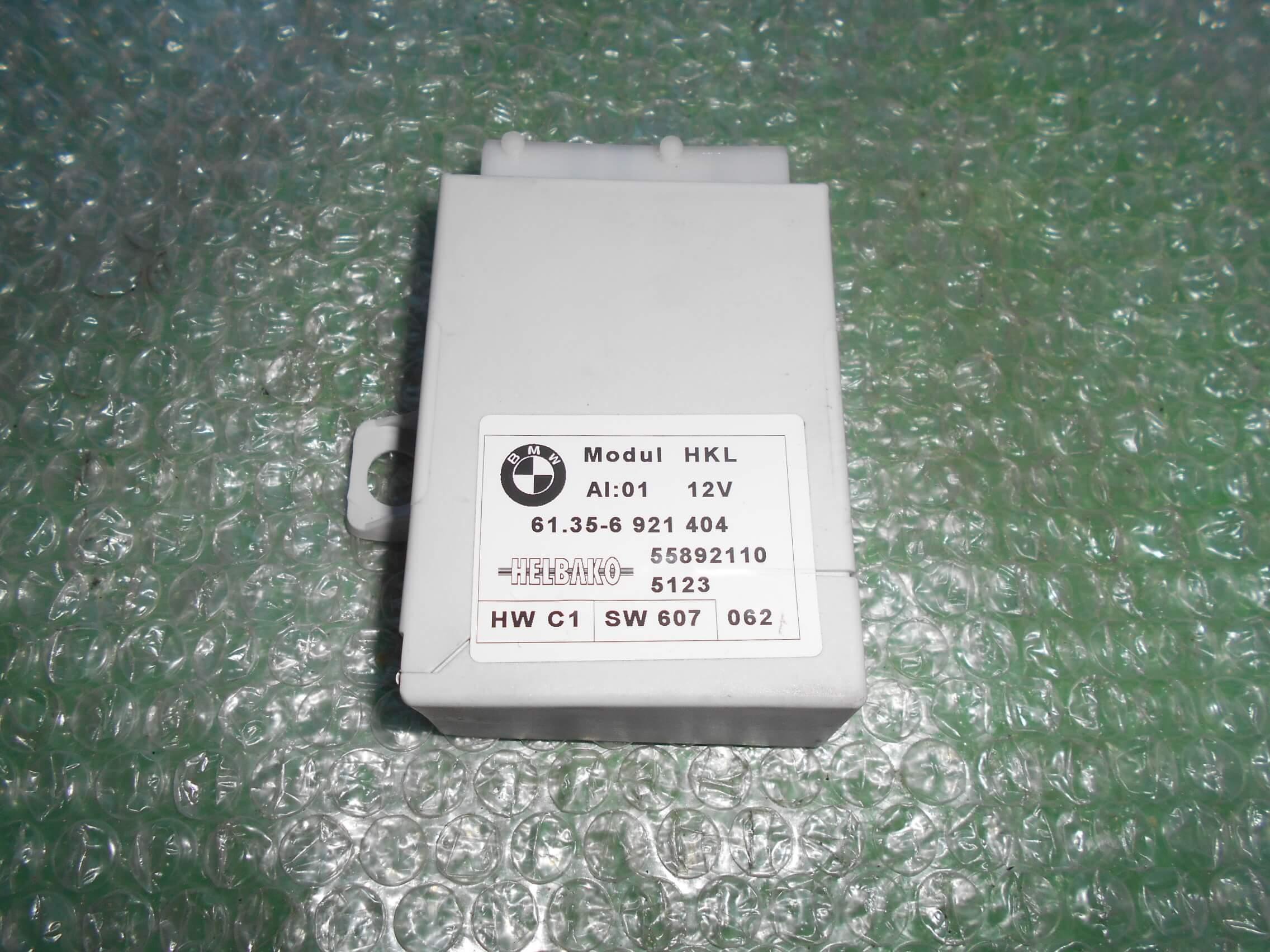 UNIDAD DE CONTROL DE ELEVACION DEL MALETERO 61.35-6921404 – HELBAKO 55892110 BMW SERIE 7 (E65)(2001-2009)
