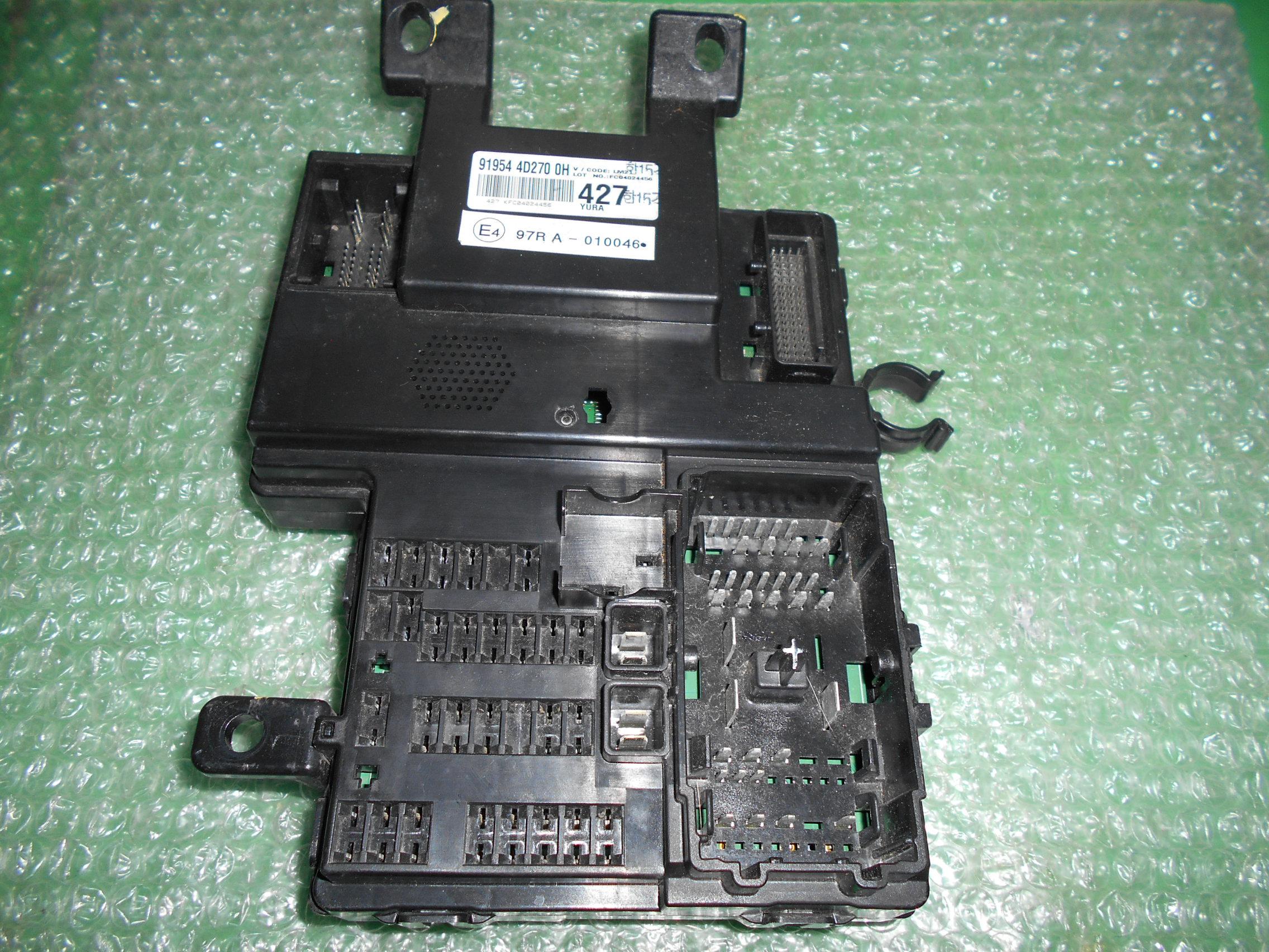 MODULO DE FUSIBLES BSM 91954-4D270-OH KIA CARNIVAL III (2006-2012)