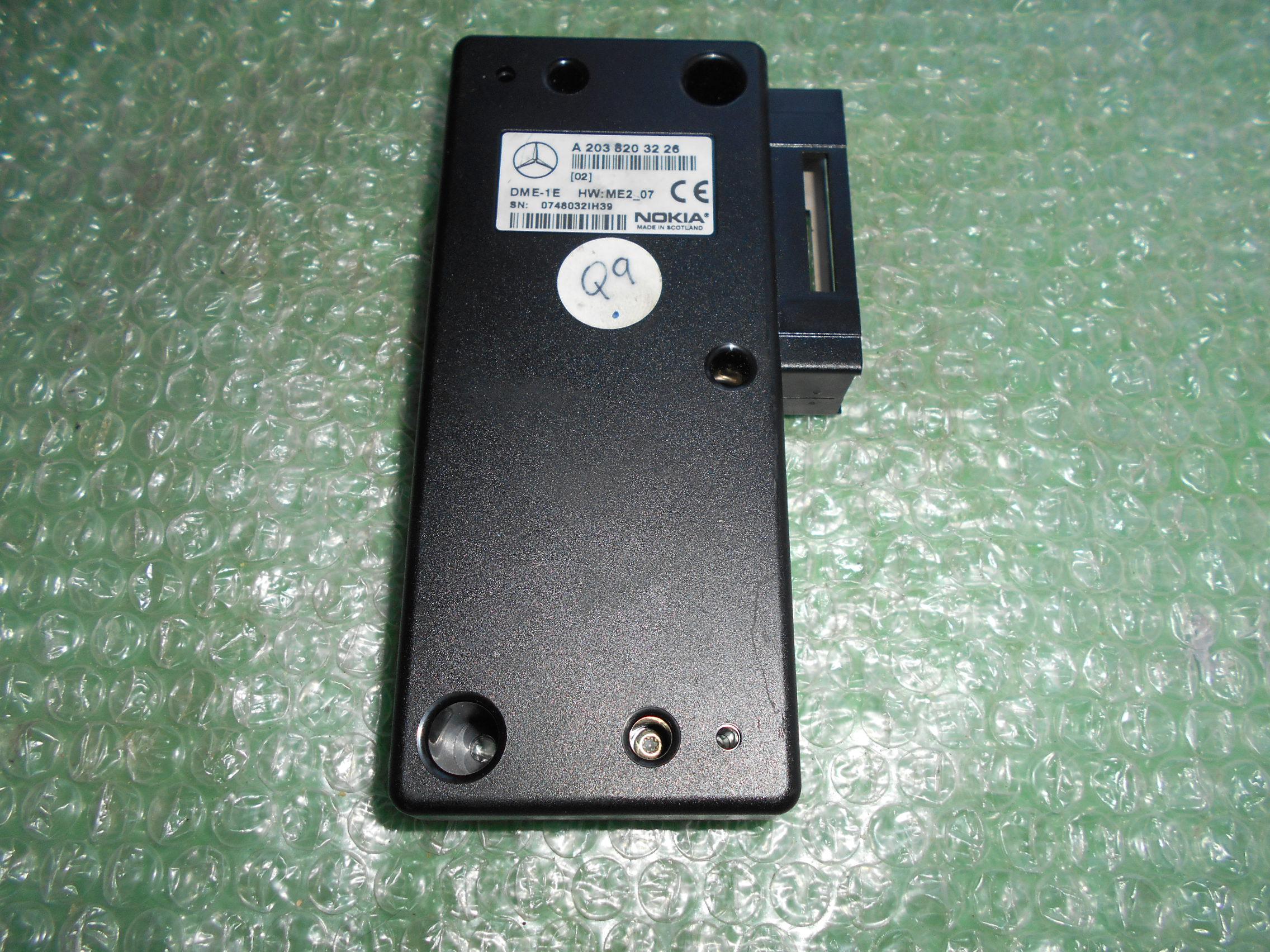 INTERFACE DE TELEFONO NOKIA A2038203226 MERCEDES BENZ CLASE C (W203)(2000-2007) – MERCEDES BENZ CLASE S (W220)(1998-2005)